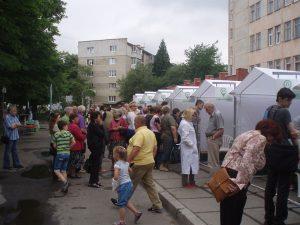 Інформаційно-профілактична акція «Здорове місто» 07.06.2017 року у 1-ому поліклінічному відділенні К6МП м.Львова