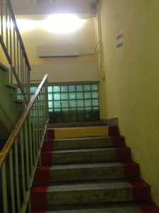 Поточний ремонт коридорів та сходової клітки 1-го поліклінічного відділення  на вул. Медової Печери,1- на суму 47,8 тис.грн.