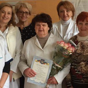 Подяка лікарю-невропатологу Лєшковій Ніні Володимирівні.